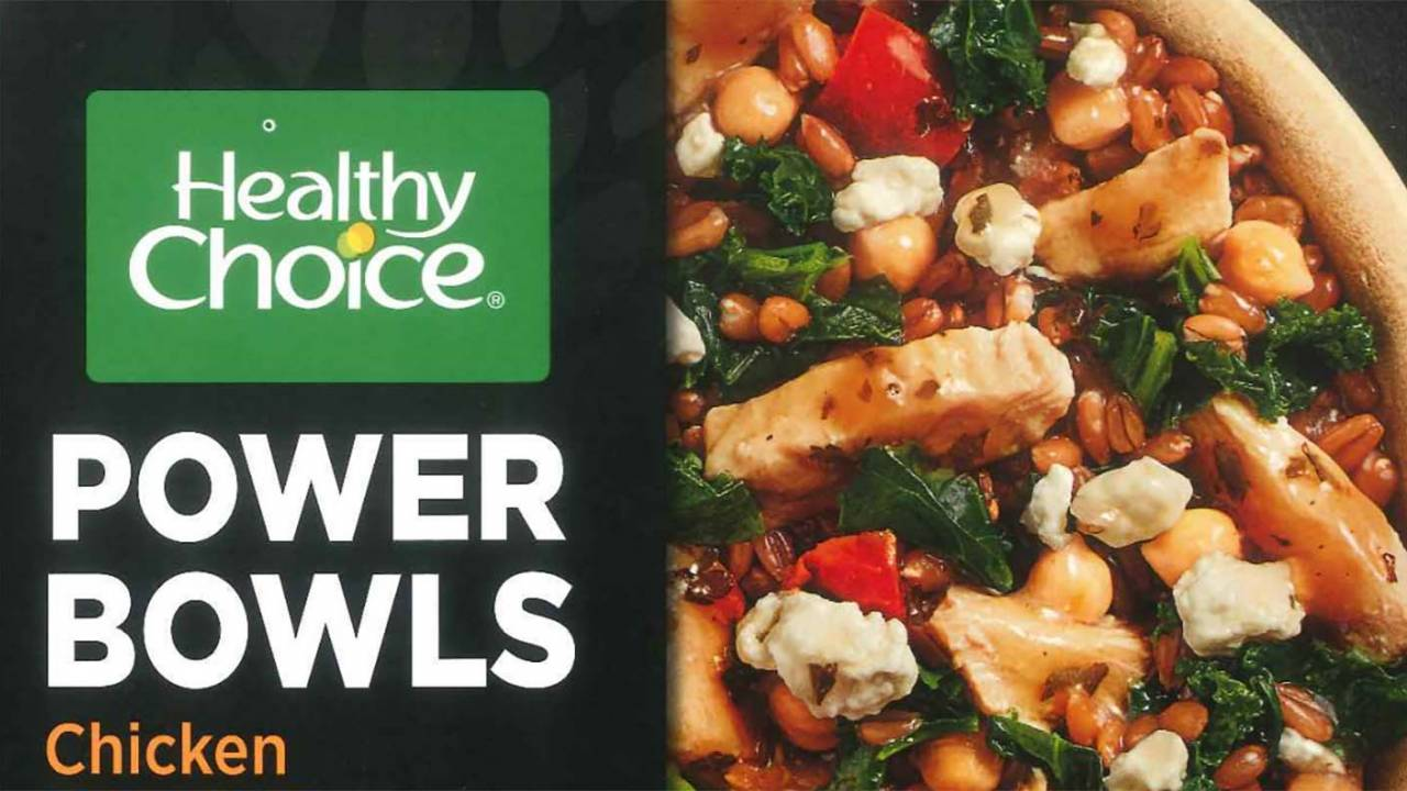 USDA warns Healthy Choice chicken bowls recalled over small rocks