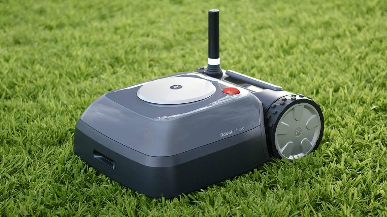 iRobot's Terra robot mower launch just got put on hold