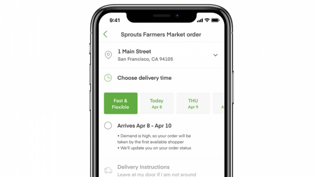 Instacart adds two new features to speed up grocery delivery