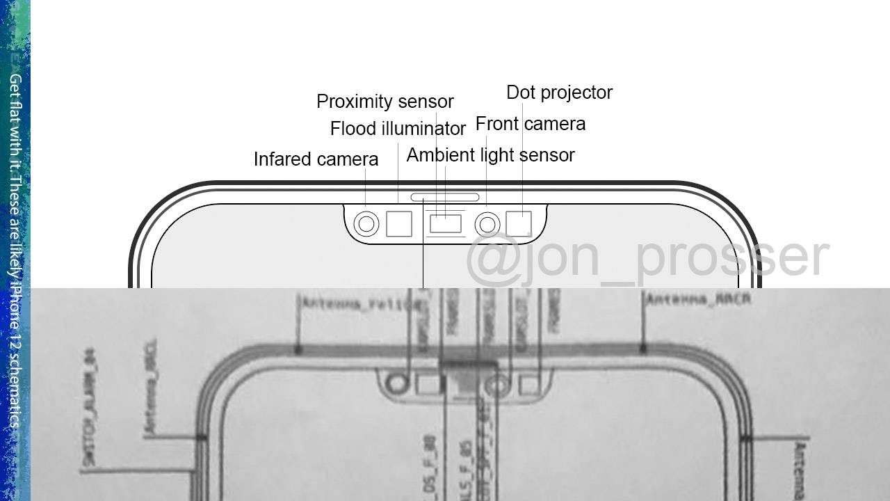 iPhone 12 secrets leaked in phone blueprint