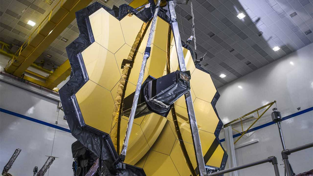 James Webb Space Telescope full mirror deployment was a success