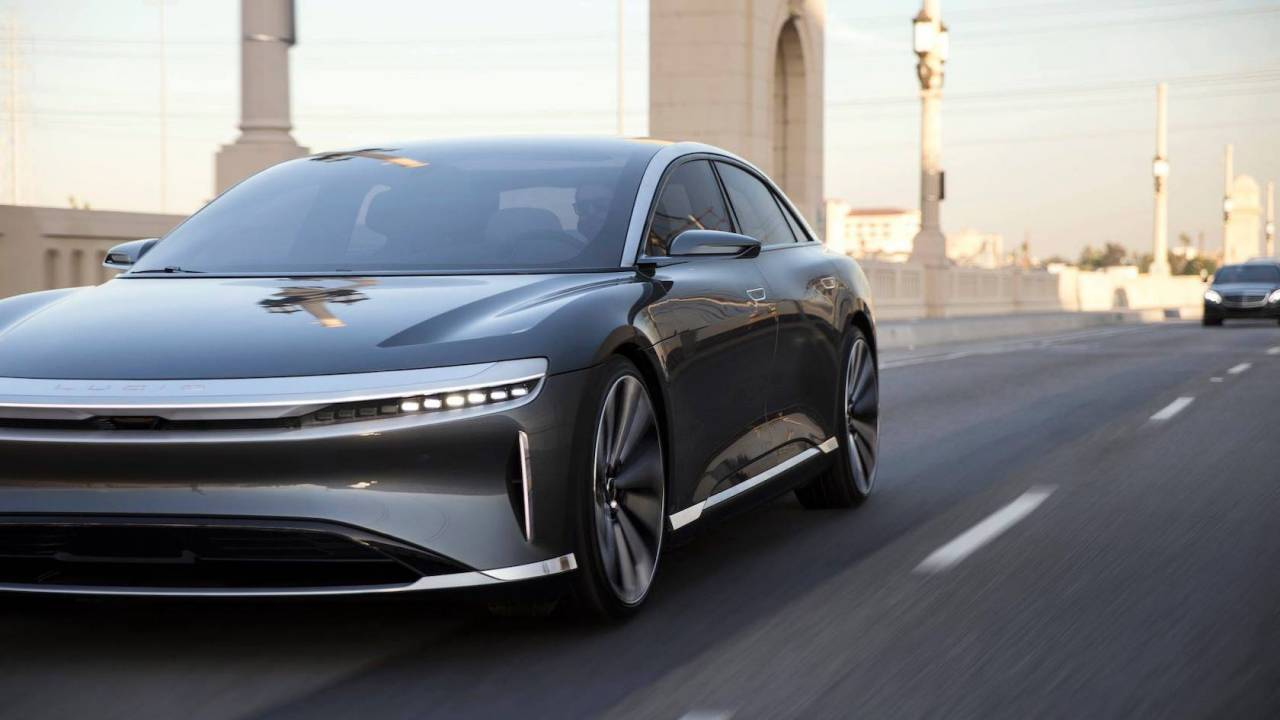 Lucid Air range test video sends EV out onto real roads