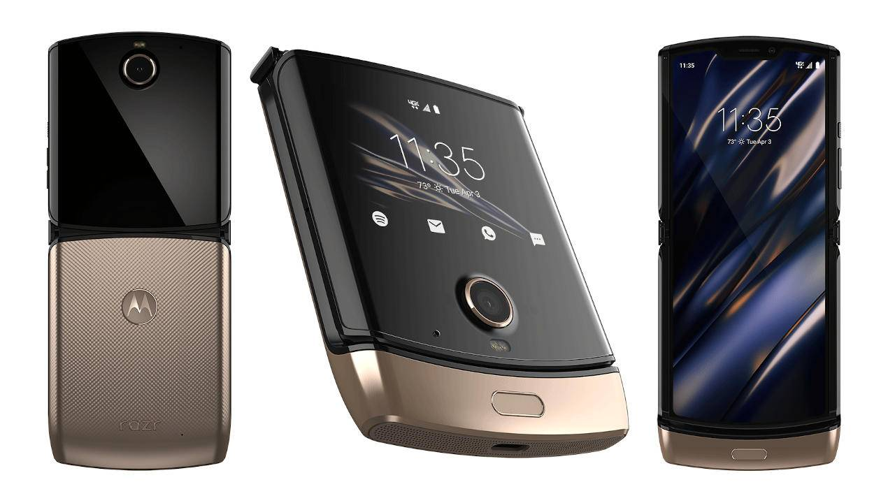 Motorola Razr now comes in Blush Gold, still priced like gold