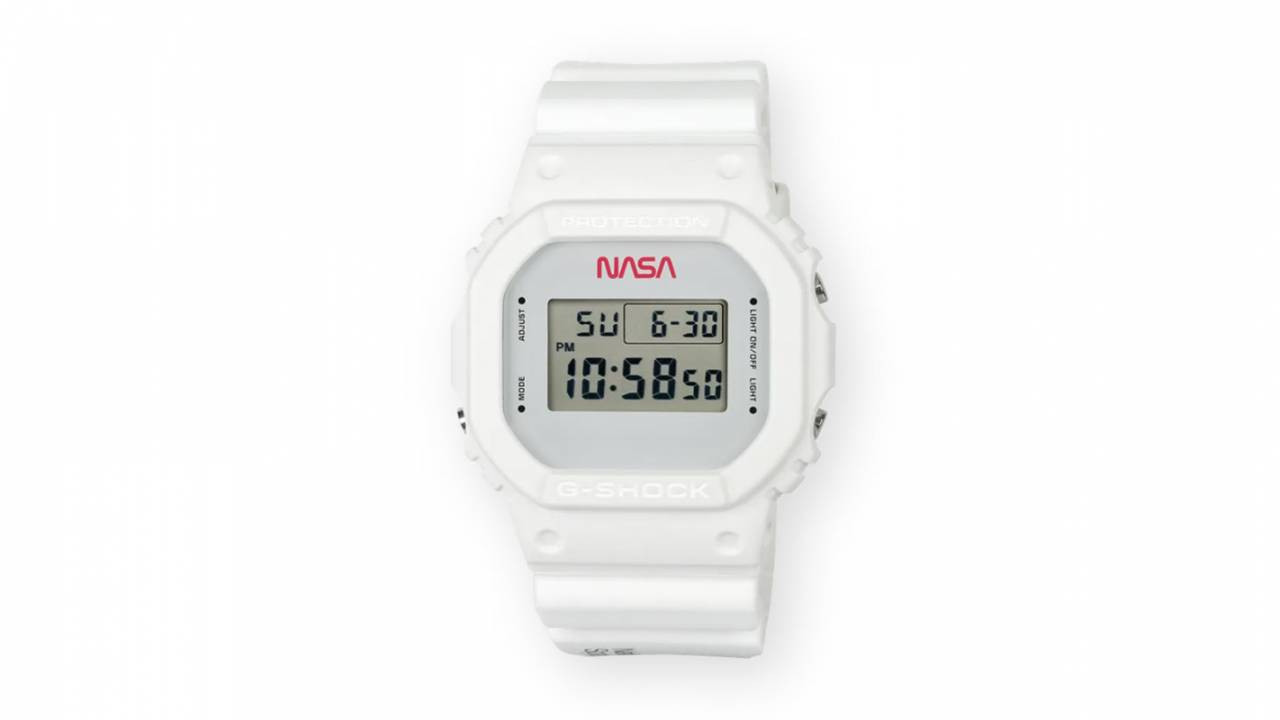 Casio G-Shock limited edition watch sports retro NASA design
