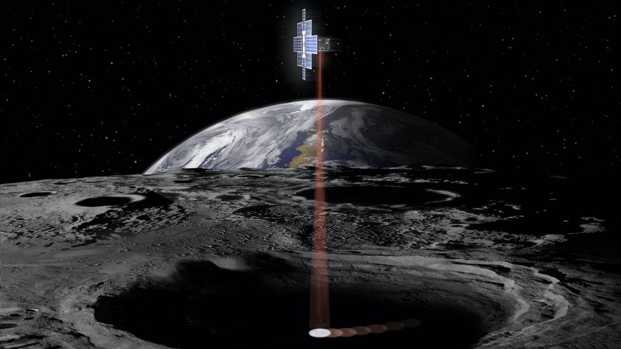 NASA plans to hunt Moon water with space lasers