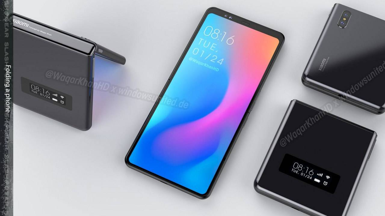 Xiaomi Samsung Galaxy Z Flip-like foldable tipped by suppliers