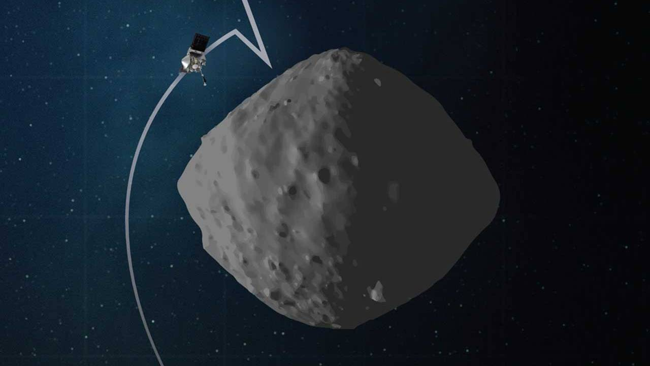 NASA's OSIRIS-REx completes its rehearsal for its asteroid-sampling mission