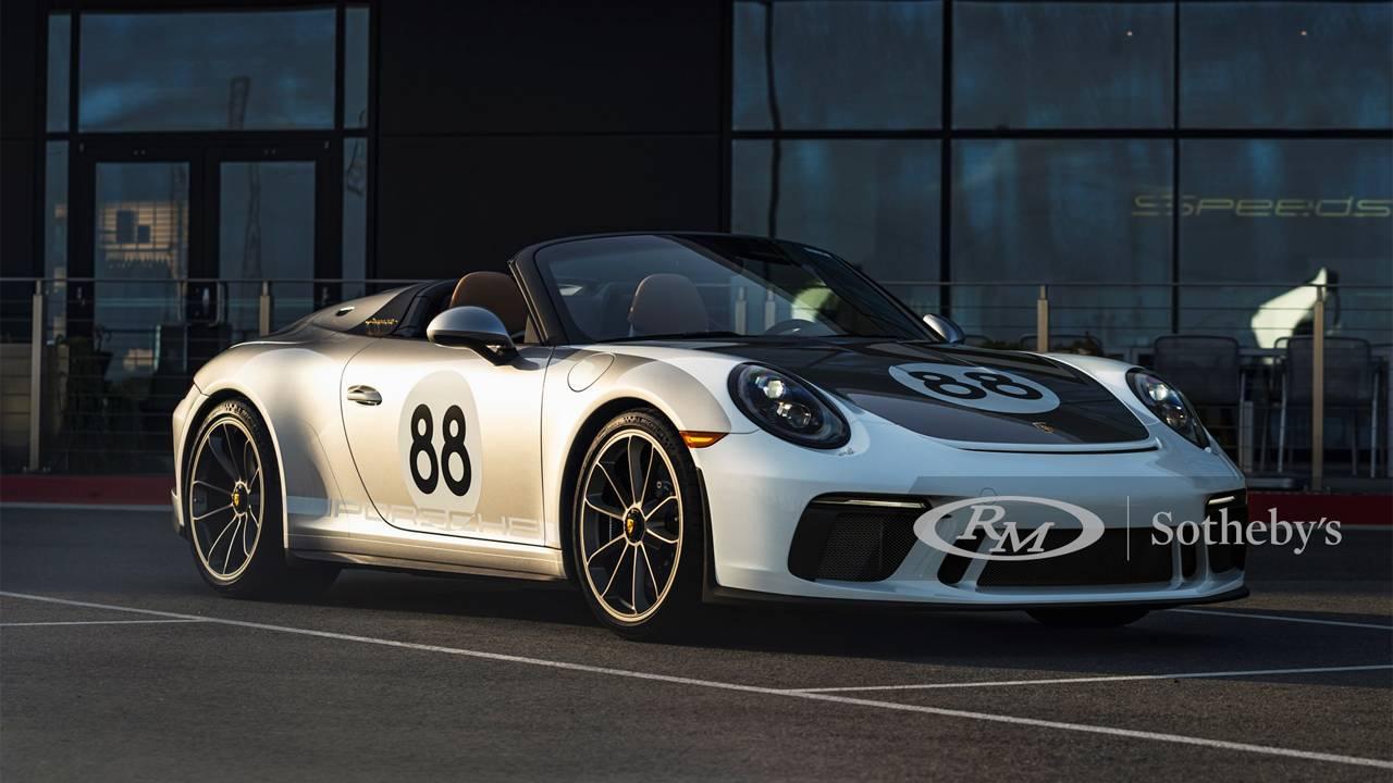 RM Sotheby's Porsche 911 Speedster auction to benefit COVID-19 fund