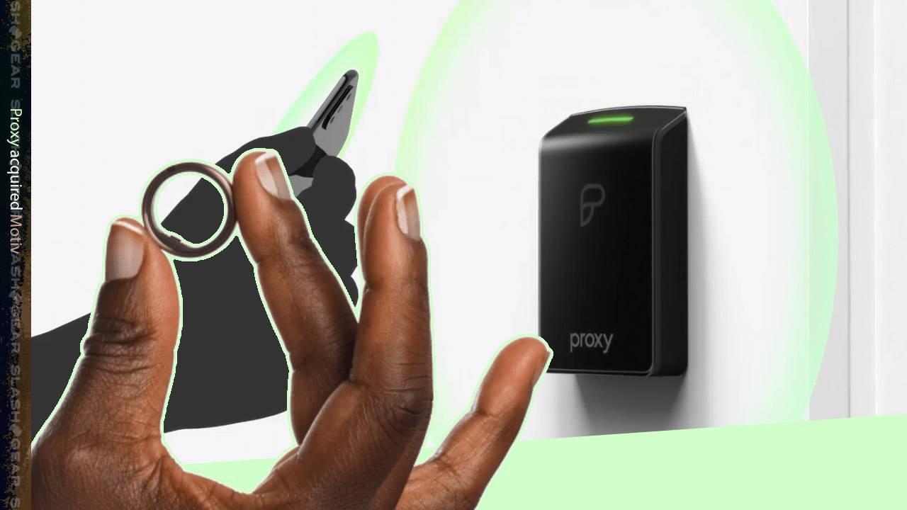 Proxy bought Motiv to make rings into wireless keys