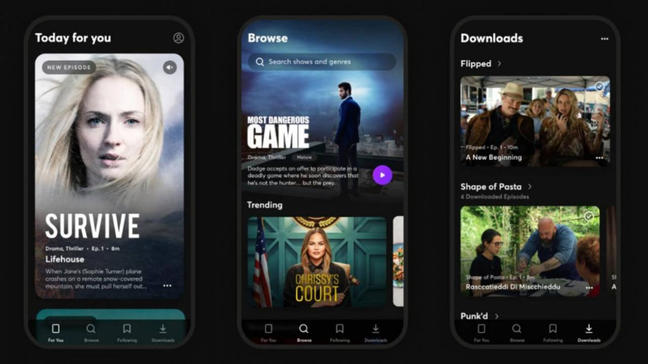 Quibi streaming service will arrive soon on TVs, but only for some users