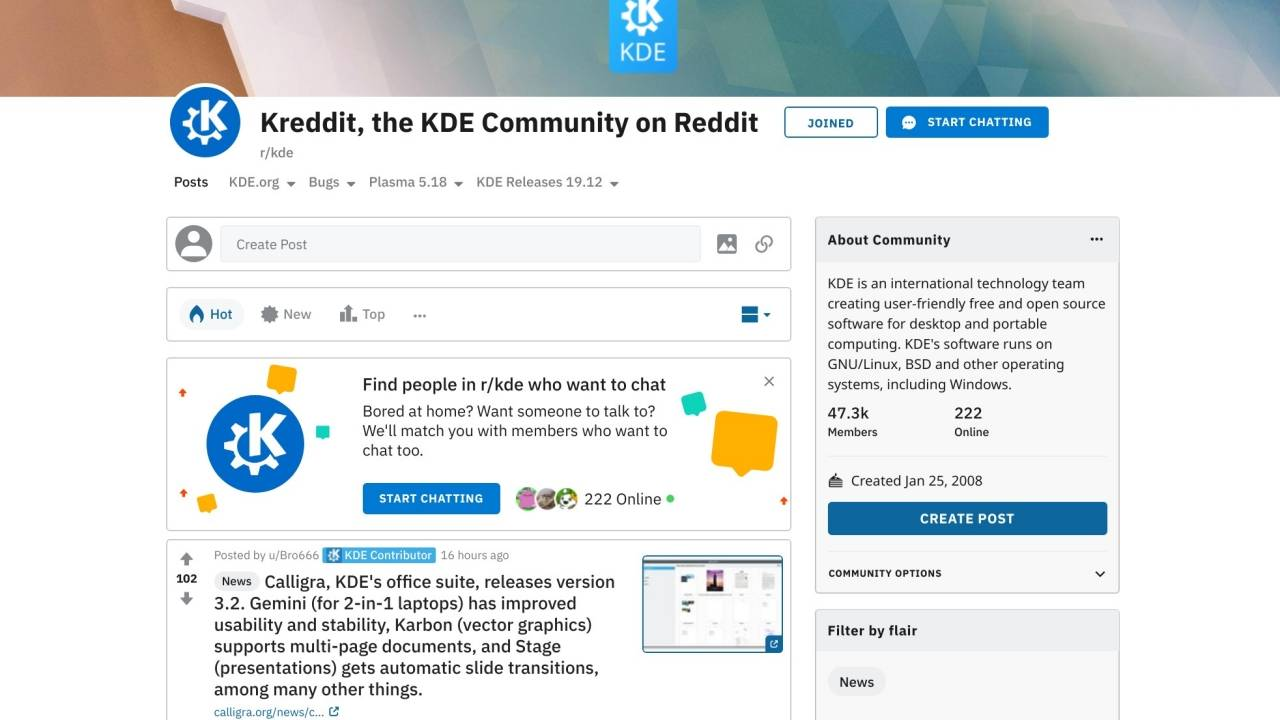 Reddit now lets users Start Chatting in groups in real-time