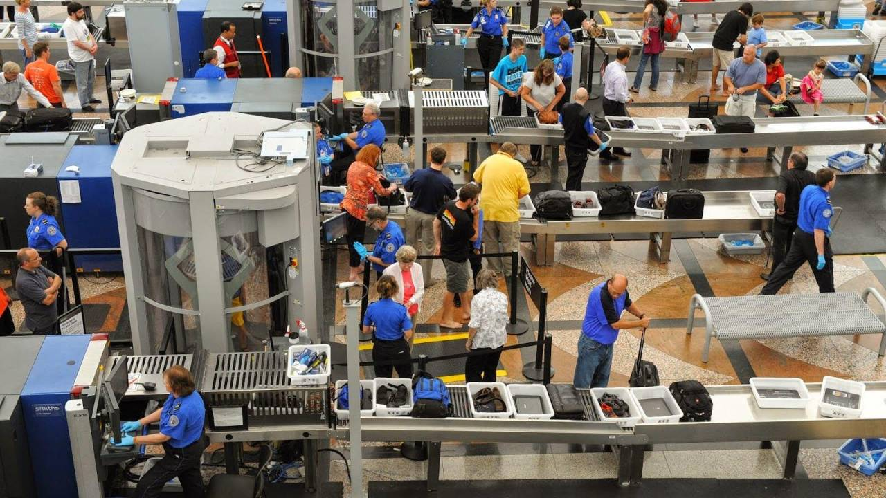 This TSA website shows just what coronavirus did to air travel