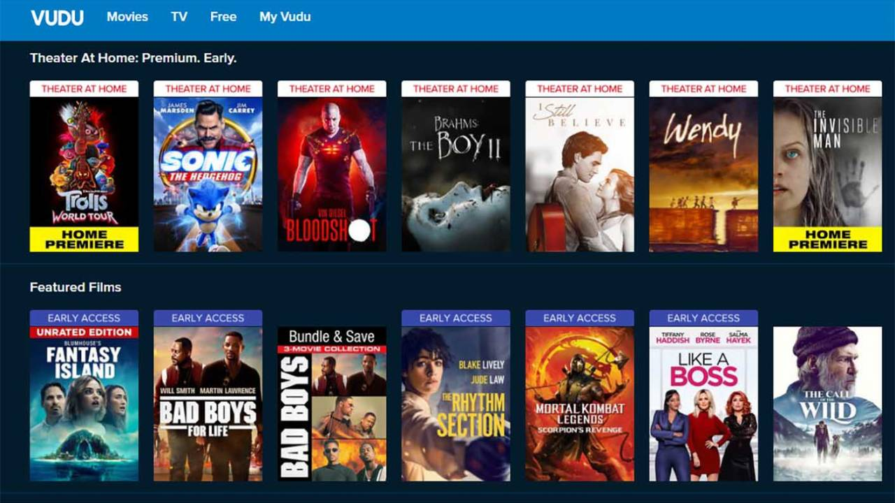 Fandango buys Vudu from Walmart: Here's what happens to your library