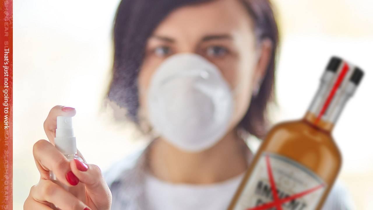 Drinking alcohol won't kill coronavirus, says WHO