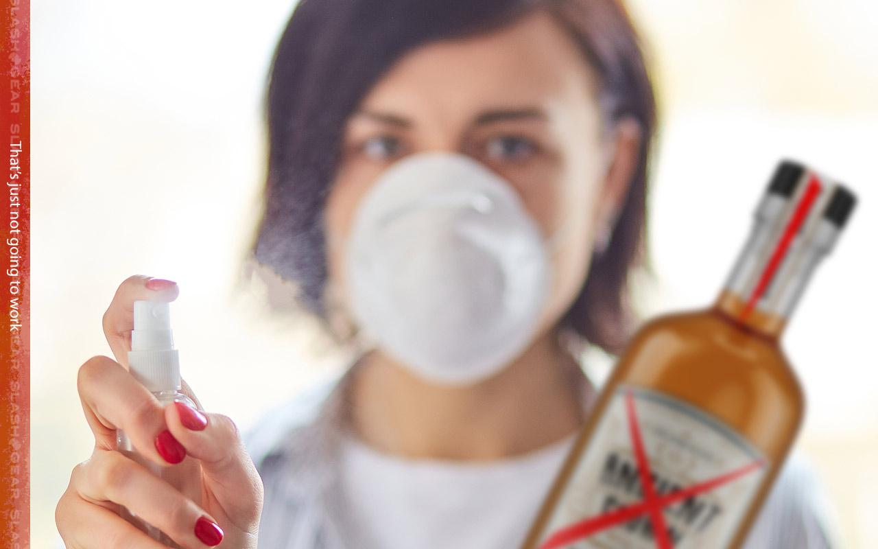 drinking alcohol won't kill coronavirus says who  slashgear