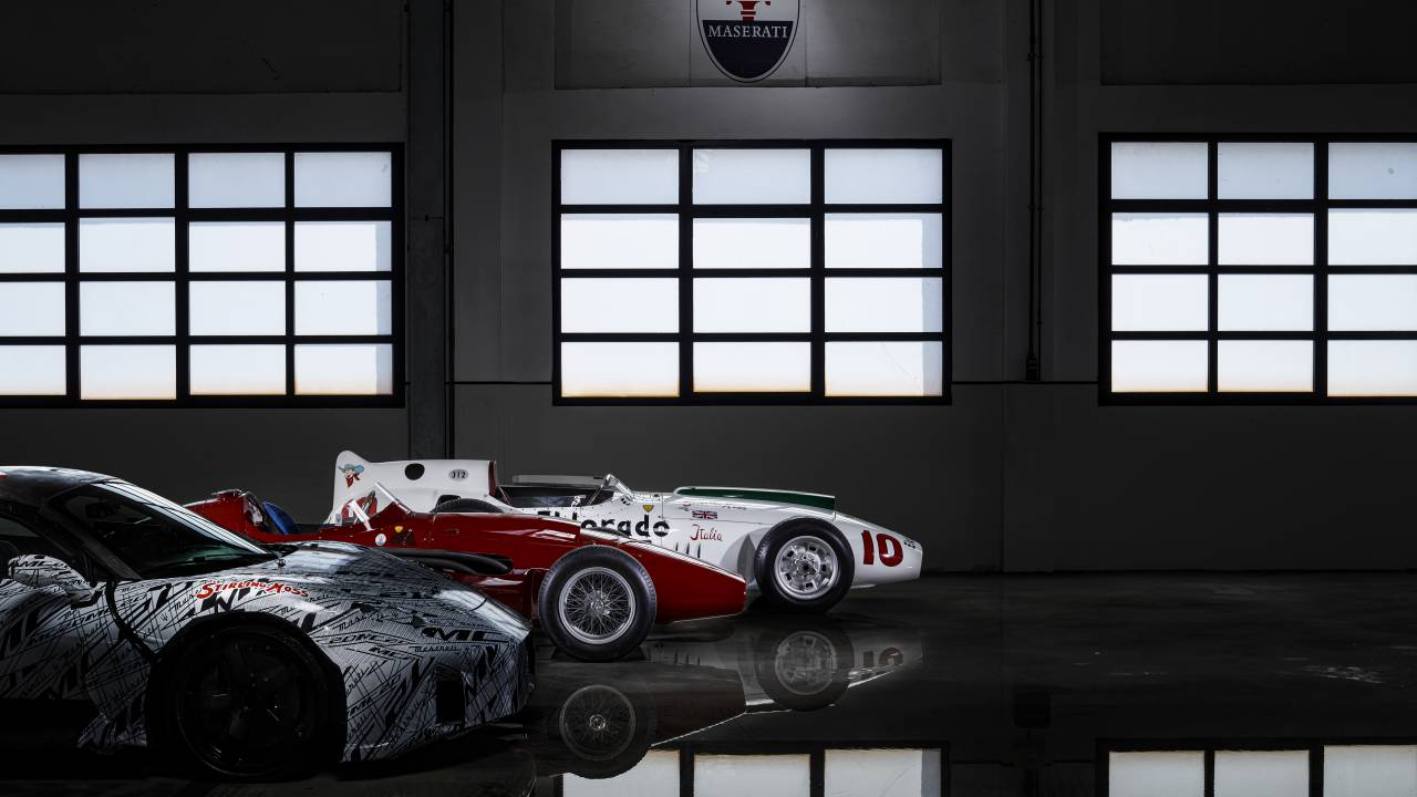 Maserati MC20 pays homage to Sir Stirling Moss