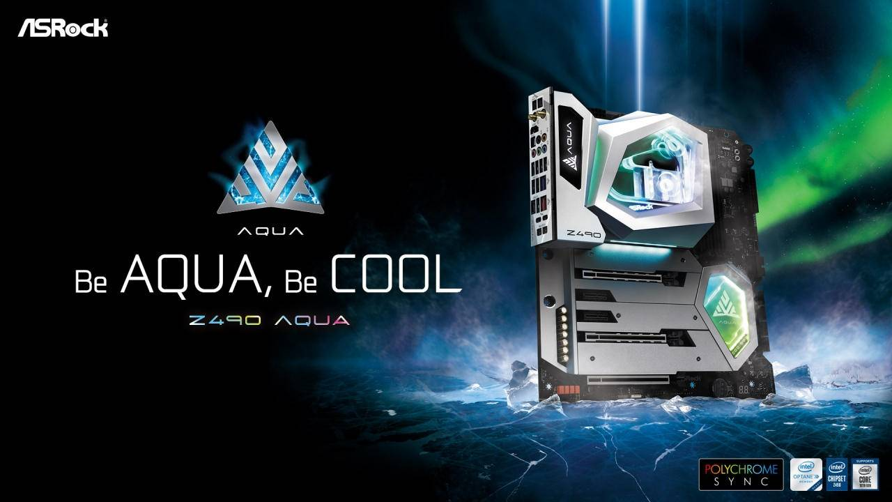 ASRock Z490 AQUA is a limited-edition water-cooled motherboard for gamers