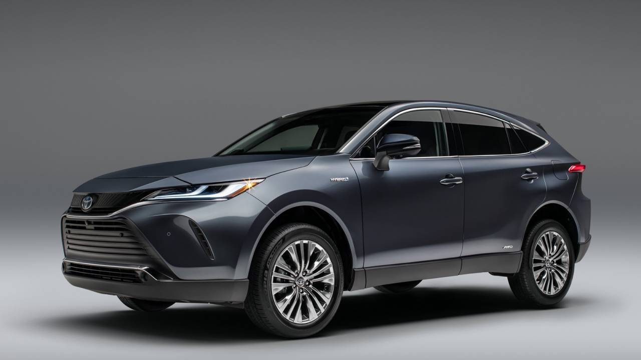 2021 Toyota Venza is a sleek hybrid crossover for RAV4 upsell