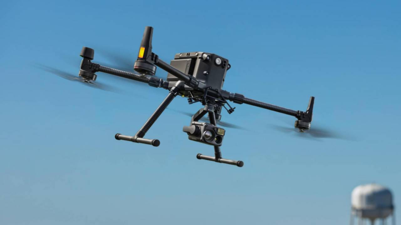 DJI Matrice 300 drone offers nearly an hour of flight