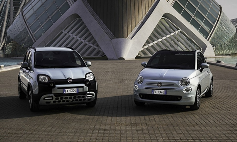Fiat debuts innovative D-Fence sanitizing package in hybrid Panda and 500 models