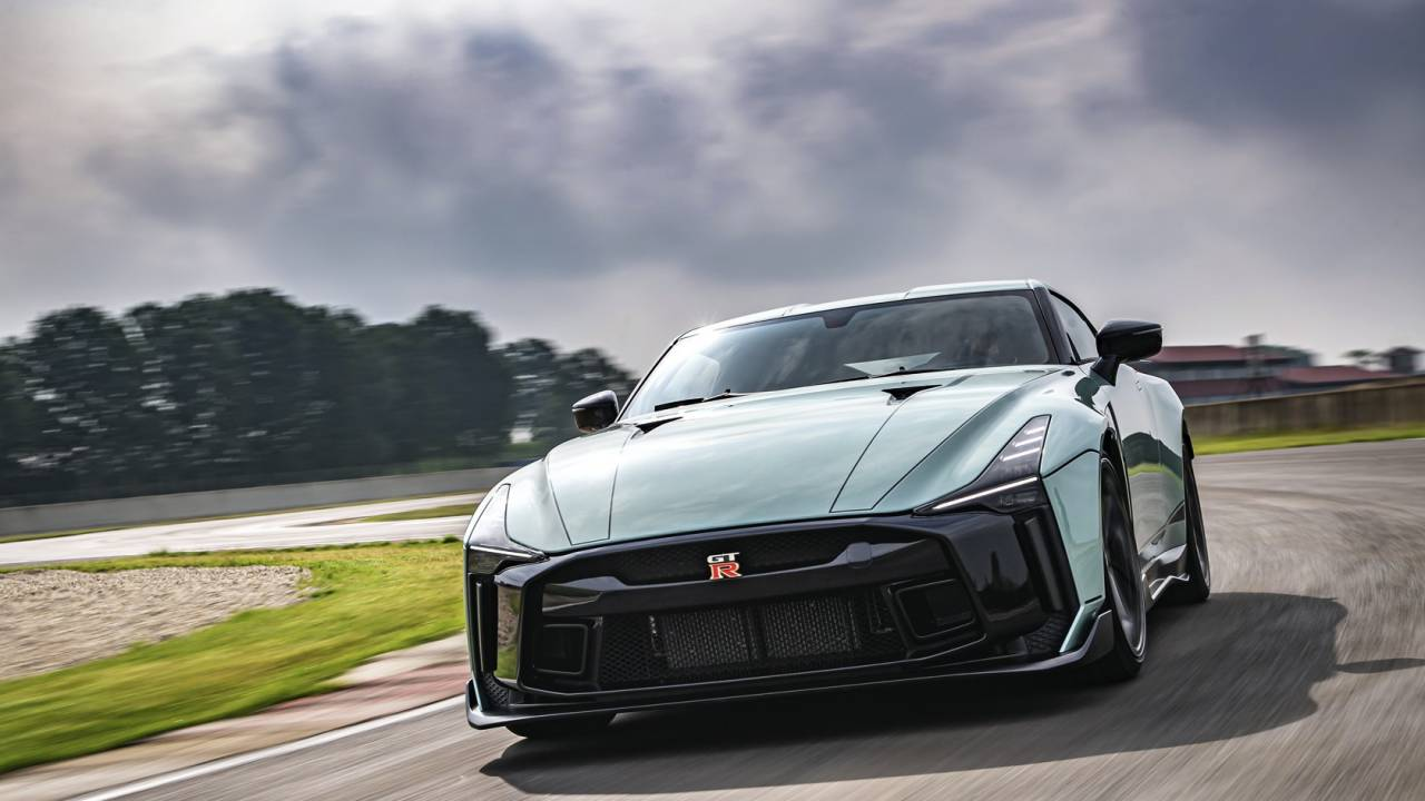 Nissan GT-R 50 by Italdesign brings a head-turning concept to life