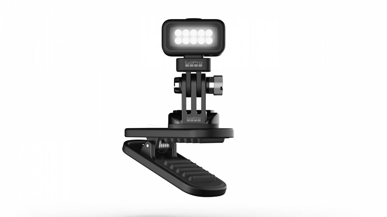 GoPro Zeus Mini waterproof light is made for outdoor adventures