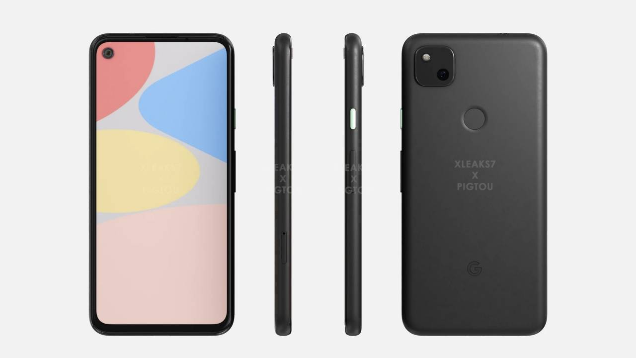 Pixel 4a renders confirm the new face of a familiar body