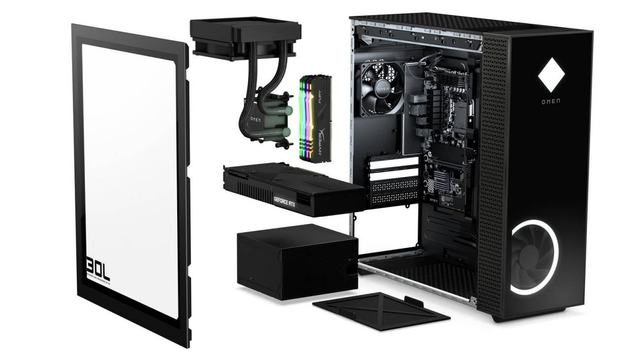 HP Omen reveals 25L and 30L desktops, 165Hz gaming monitor