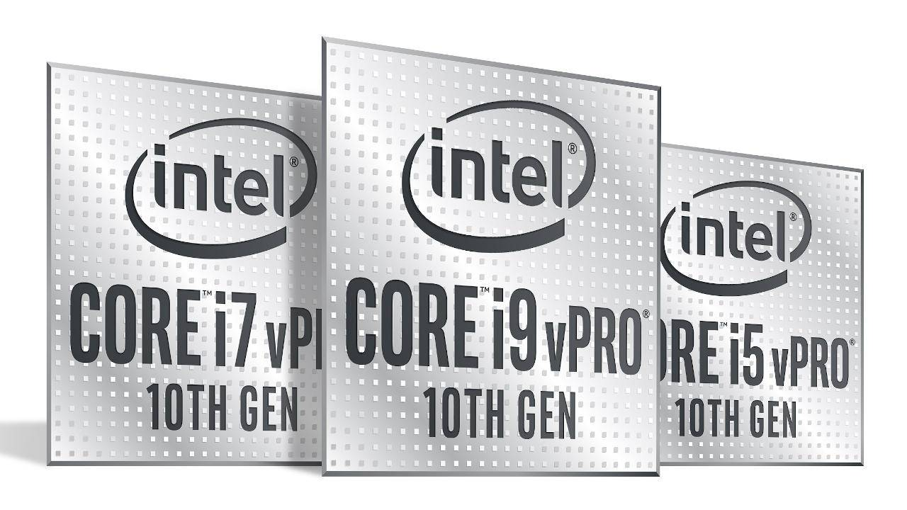 Intel 10th-gen vPro now available for business customers