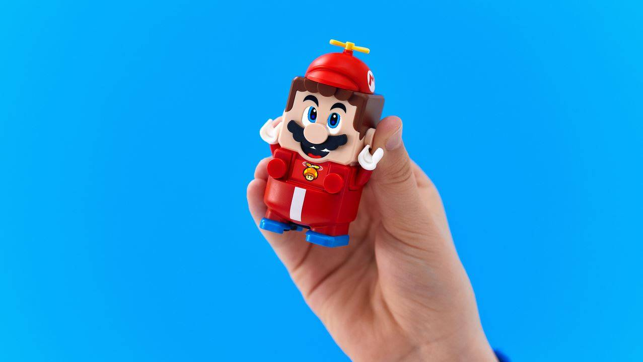 LEGO Super Mario Power-Up Packs give Mario a makeover