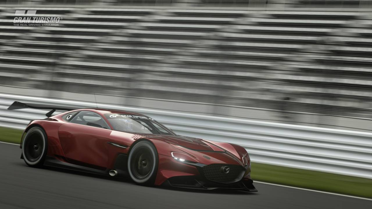 Mazda RX-Vision GT3 Concept is debuting in Gran Turismo Sport for PS4