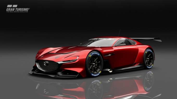 Mazda Rx Vision Gt3 Concept Is Debuting In Gran Turismo Sport For Ps4 Slashgear