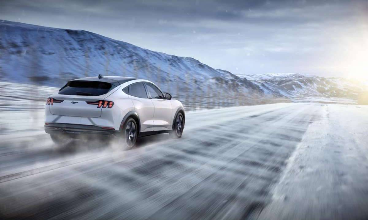 2021 Ford Mustang Mach-E is ready for winter