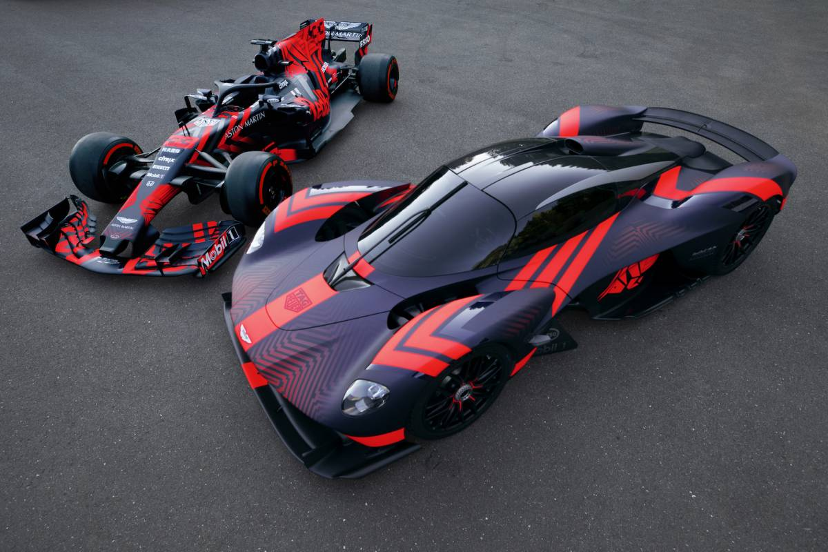 Aston Martin Valkyrie S Cosworth V12 Pumps Out 1 000hp With No Turbos Slashgear