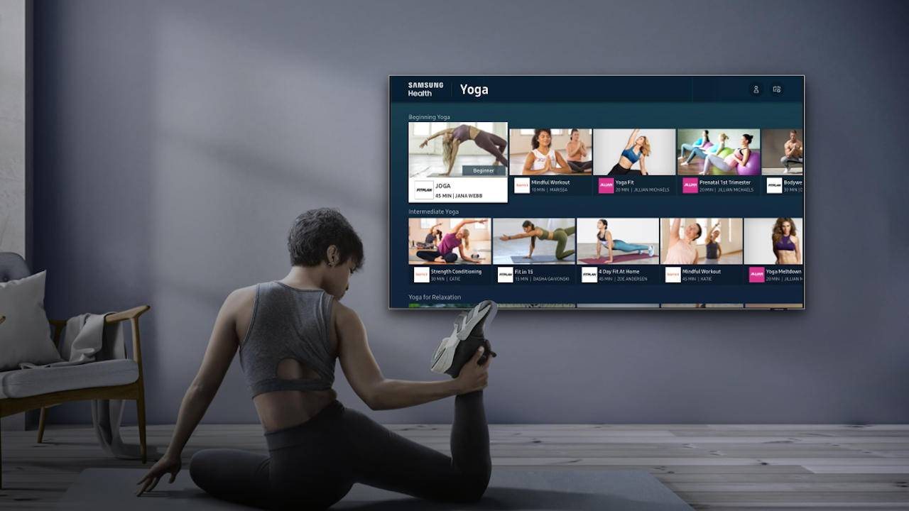 2020 Samsung Smart TVs get Samsung Health to help you stay fit at home