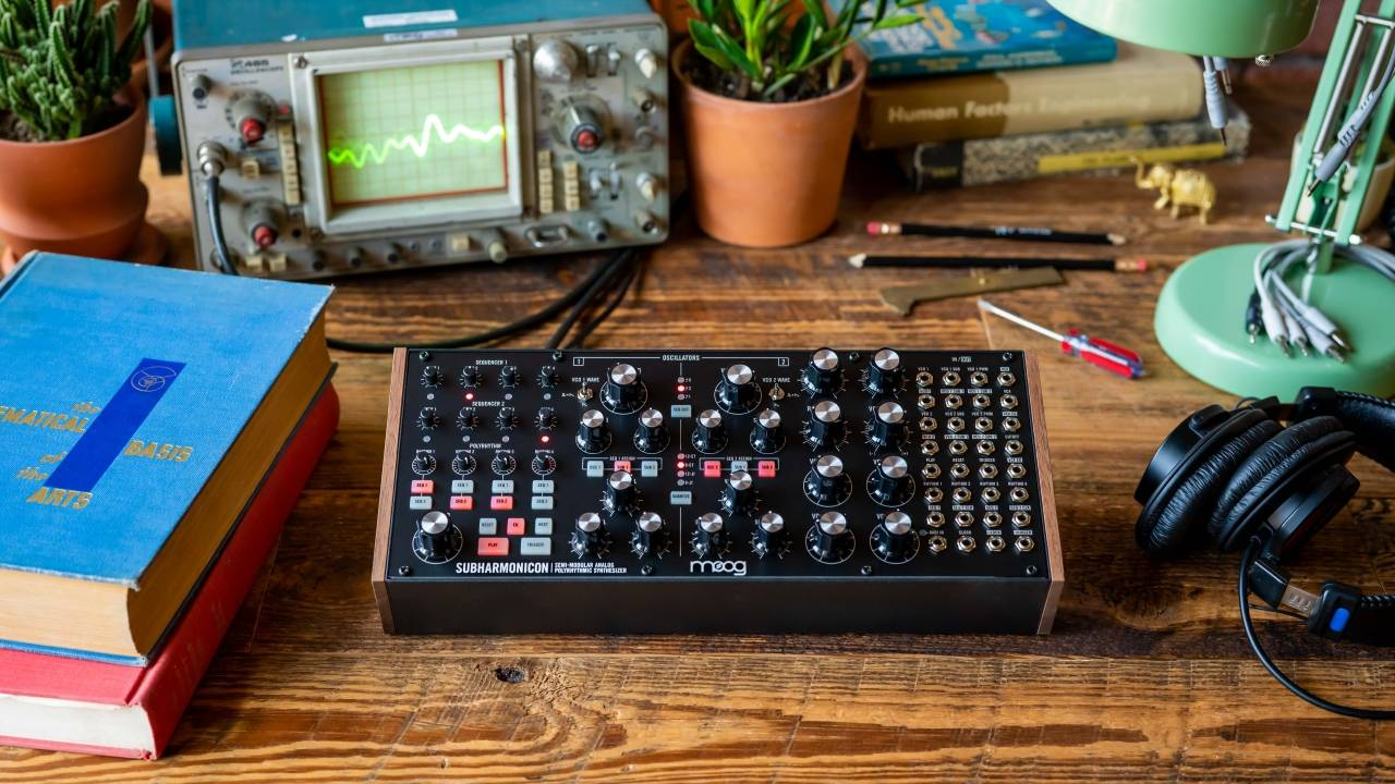 Moog Music Subharmonicon synthesizer leverages the past to make music
