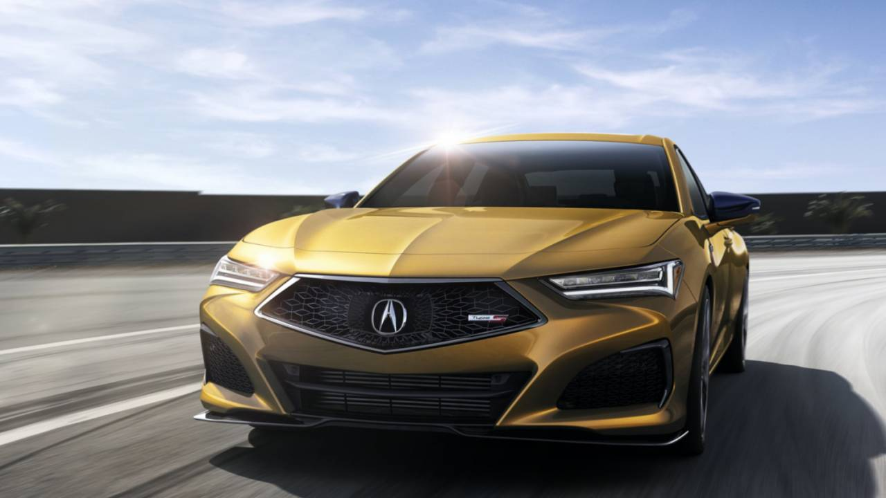 2021 Acura TLX revealed: Power, Tech and the TLX Type S to come