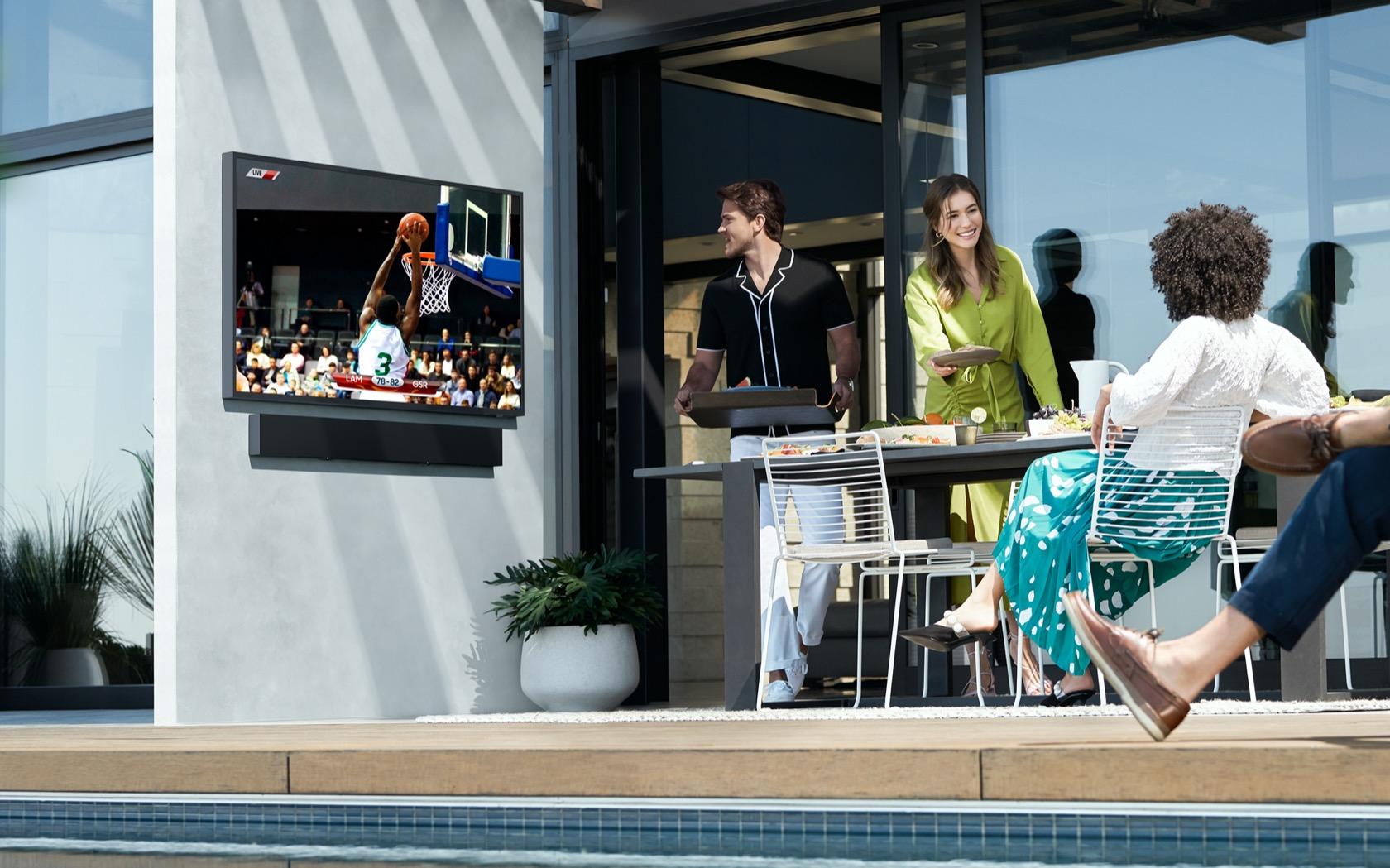 Samsung The Terrace outdoor TV takes 4K into the garden - SlashGear
