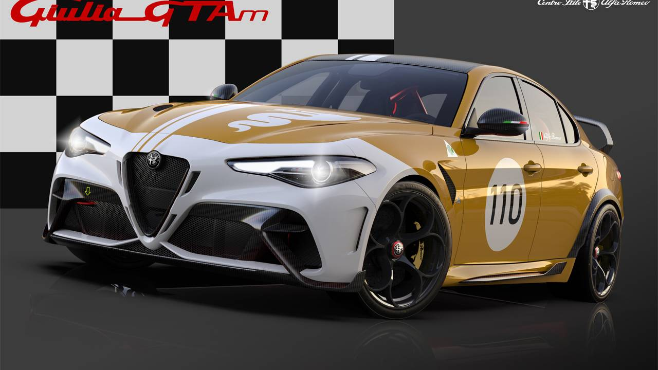 Alfa Romeo Giulia GTA buyers get to choose a special racing livery
