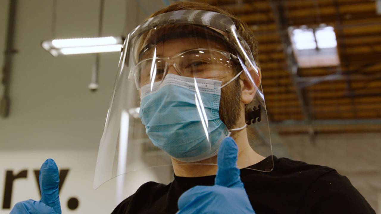 Amazon develops NIH-approved face shield for healthcare workers