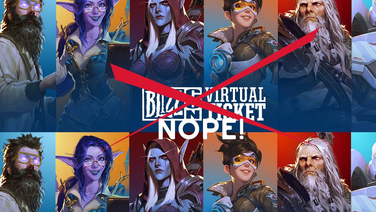 Blizzard just cancelled their yearly convention: No BlizzCon 2020