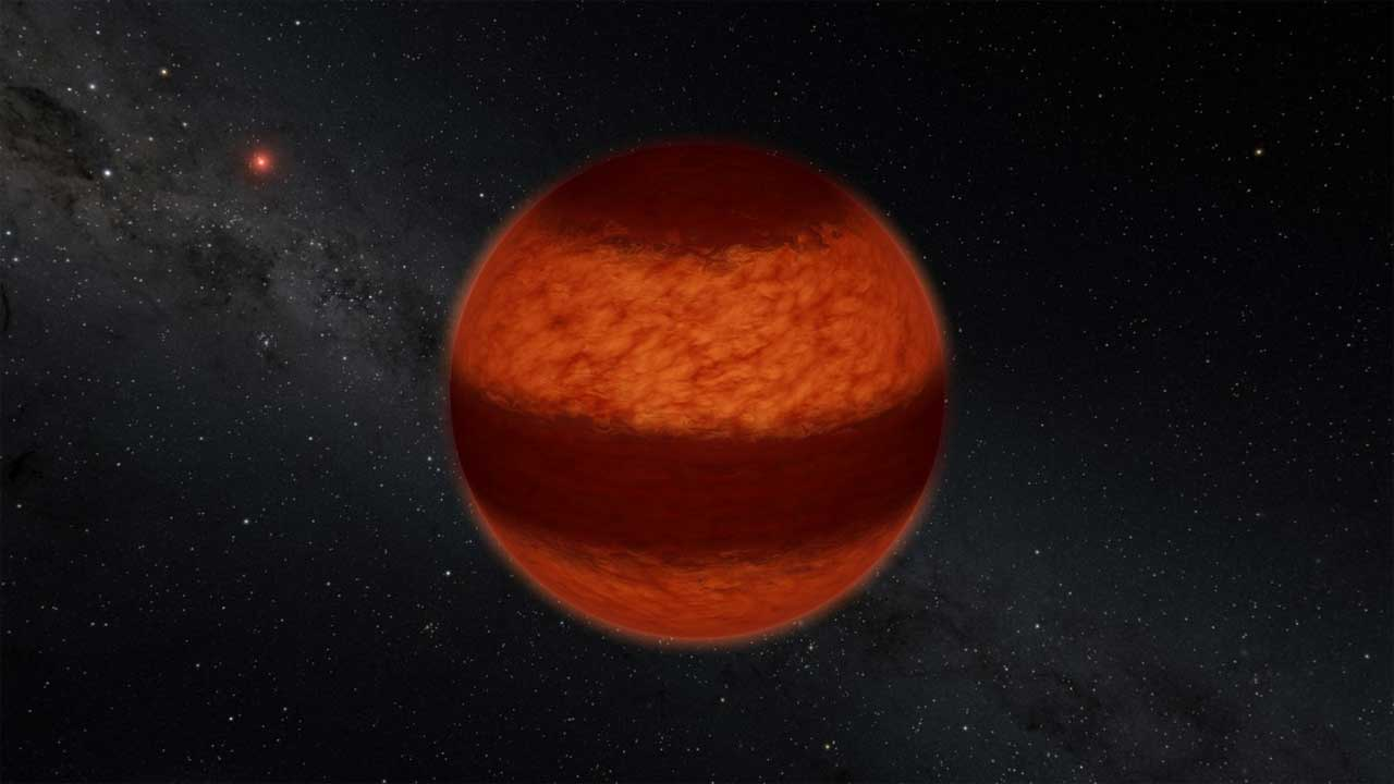 Scientists discover bands of clouds streaking across a brown dwarf