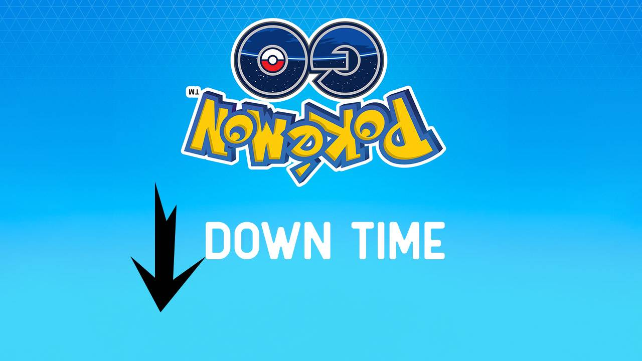 Pokemon GO down time is first (planned) since 2016