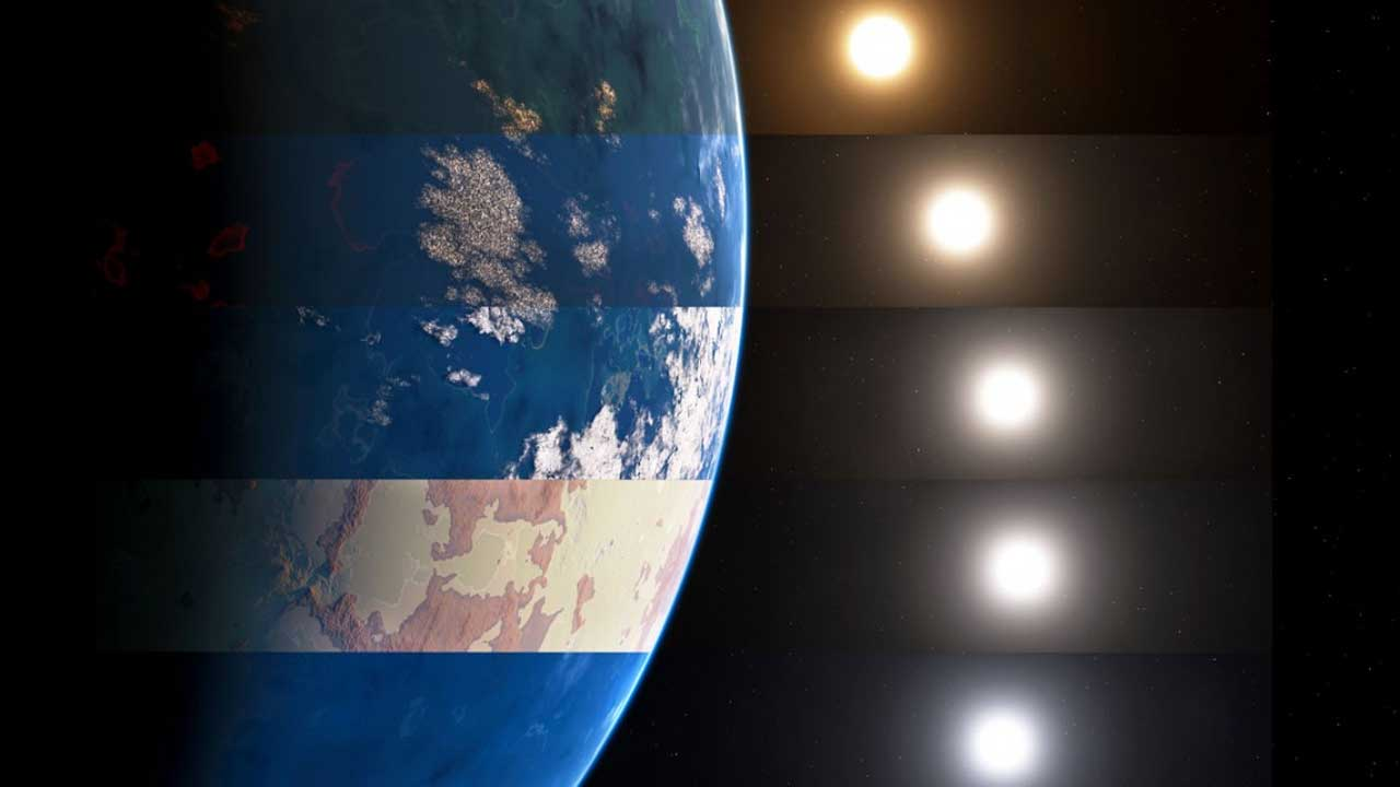 Astronomers created an environmental color decoder to find habitable exoplanets