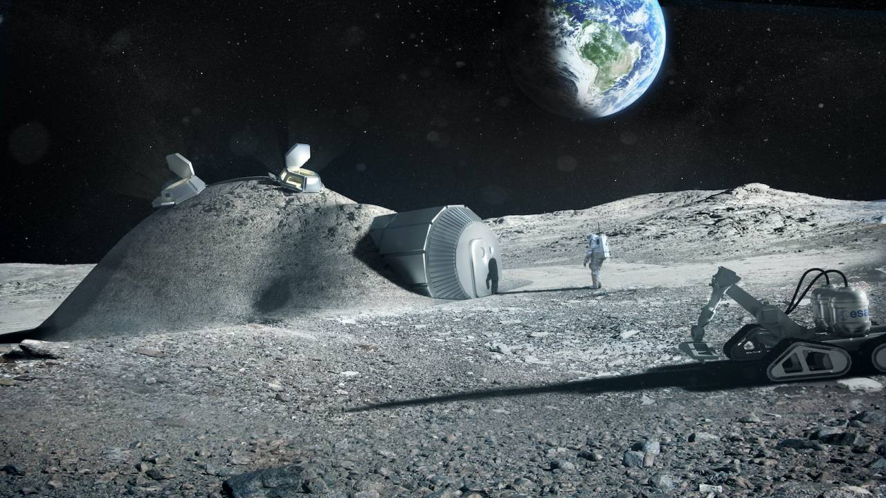 3D printed Moon base could use astronaut urine as a key ingredient