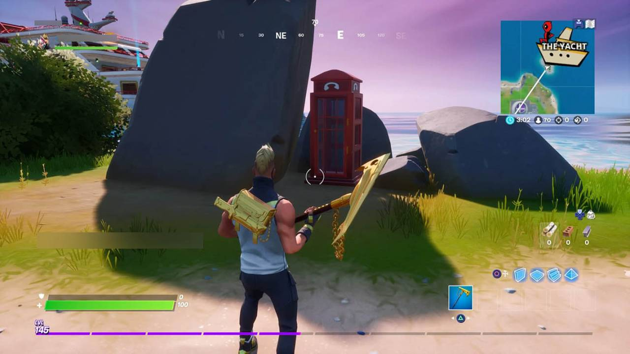Fortnite phone booth glitch causes players to 'pray' when knocked