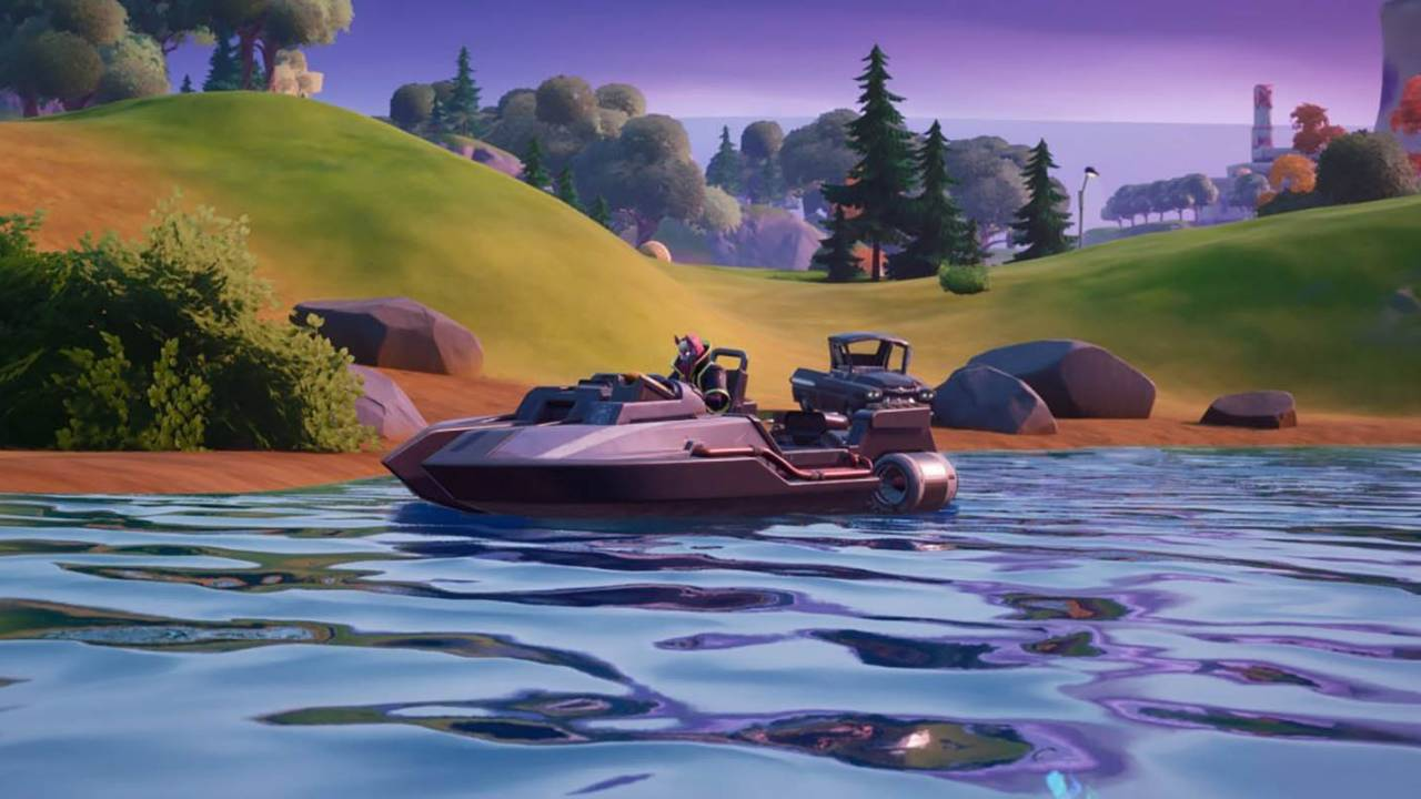 Fortnite Season 3 leak claims watery map changes and shark vehicles