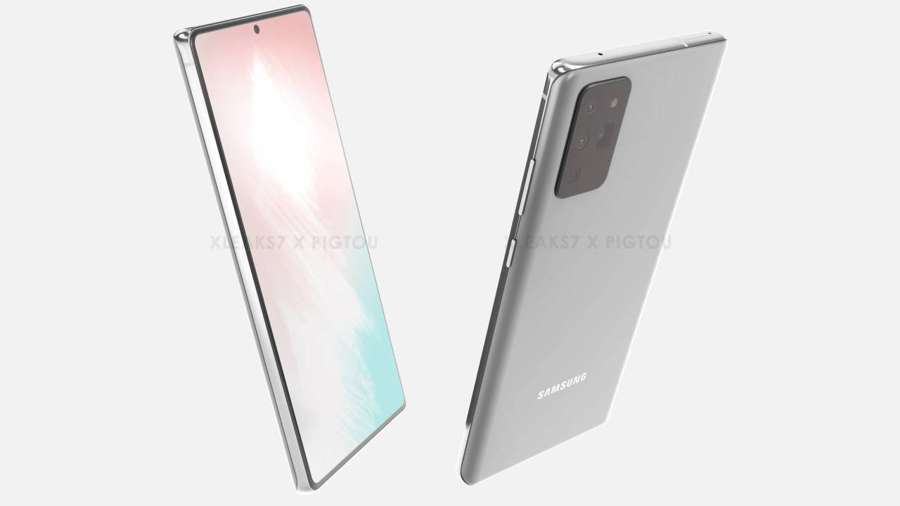 Galaxy Note 20 renders have one questionable S Pen change