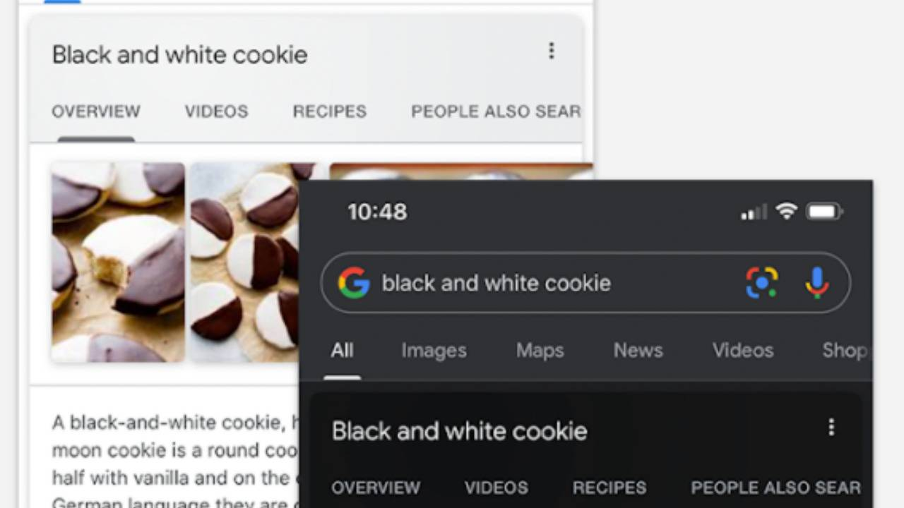 Google app on Android and iOS finally gets a dark mode