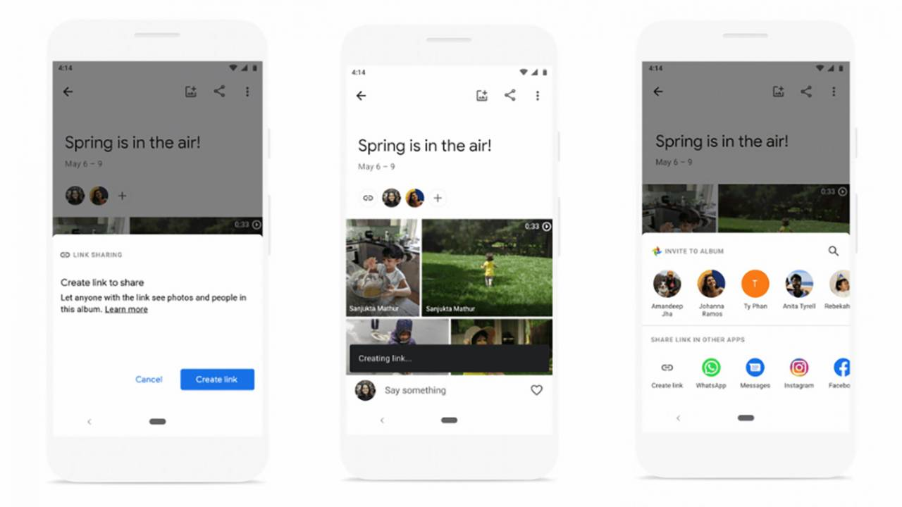 Google Photos gives users more control over shared albums